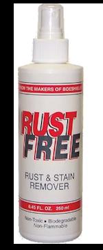 Bottle of Rust Free