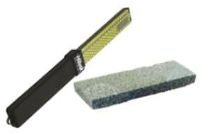whetstone and diamond file